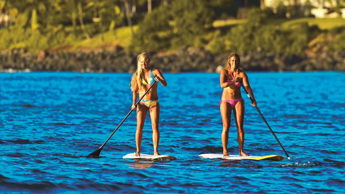 photos cours de stand up paddle et initiation voile a lacanau