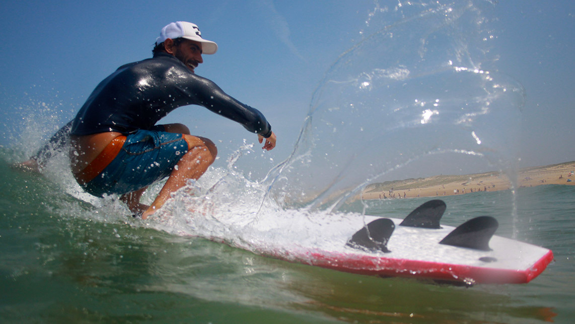 photos des moniteurs de surf de big mama surfschool lacanau